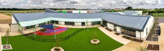 Trumpington Meadows Primary School Panorama